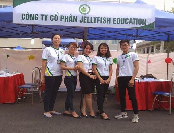 Jellyfish Education tại ngày hội việc làm