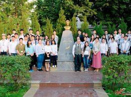 Chương trình cộng sự tiếng Nhật tại trường THPT Marie Curie Hải Phòng