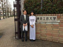 DU HỌC SINH JELLYFISH TẠI NHẬT BẢN NHẬN 02 SUẤT HỌC BỔNG ĐH BÁCH KHOA TOKYO