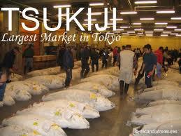 Chợ trung tâm Tsukiji