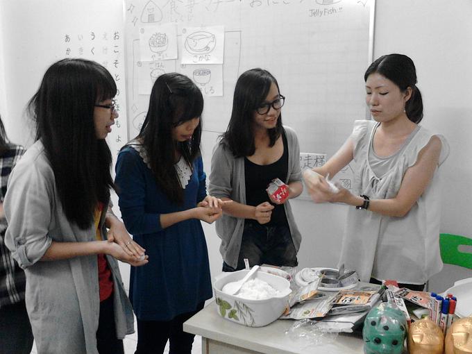 văn hóa ẩm thực tại công ty du học nhật bản jellyfish education