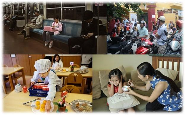 tính tự lập của trẻ em Nhật Bản