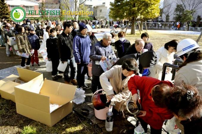 văn hóa xếp hàng tại Nhật Bản