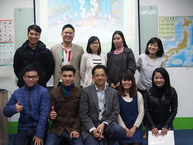 chương trình hội thảo du học nhật bản của jellyfish education