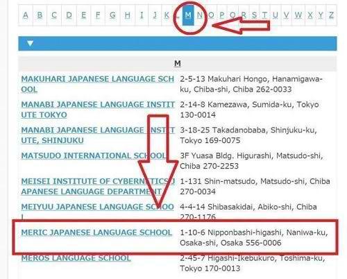 Hướng dẫn tra học phí các trường học tại Nhật Bản