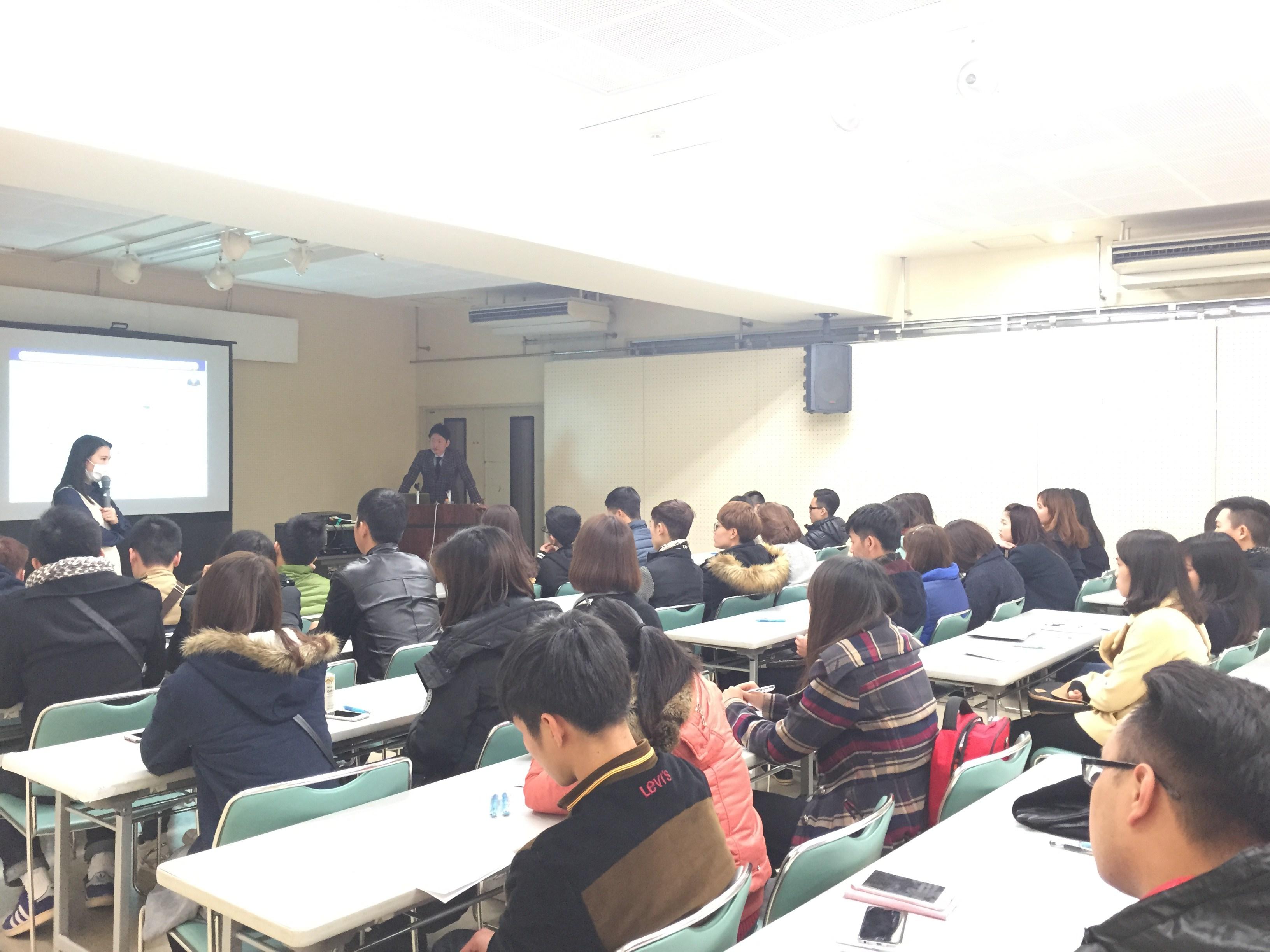 du học sinh kỳ tháng 1 năm 2016 tại Tokyo