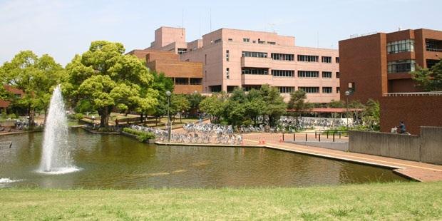 khuôn viên đại học stukuba