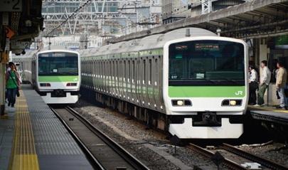 văn hóa đi tàu điện của người Nhật
