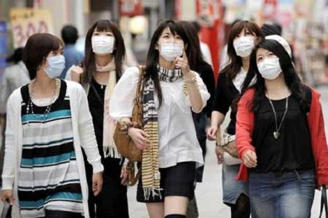 văn hóa sử dụng khẩu trang mọi nơi trên nước Nhật