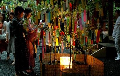 lễ hội ngưu lang chức nữ tại Nhật
