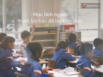 học sinh tại nhật học làm người trước khi học kiến thức