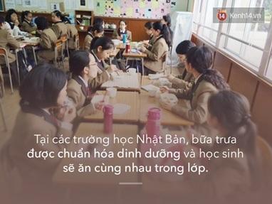 thực đơn trong trường