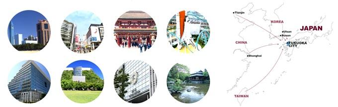 một số hình ảnh về thành phố fukuoka