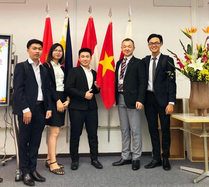 Du học sinh Việt Nam tại trường Nhật ngữ TIUJ