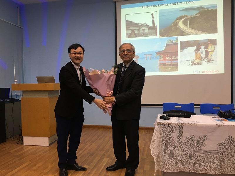 Hội thảo chương trình học bổng đại học hệ tiếng Anh tại Nhật Bản - Ảnh 2