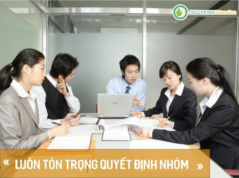 """Người Nhật quan niệm rằng """"Thành công có được là từ nỗ lực của tập thể, không ai có thể tự thành công"""""""