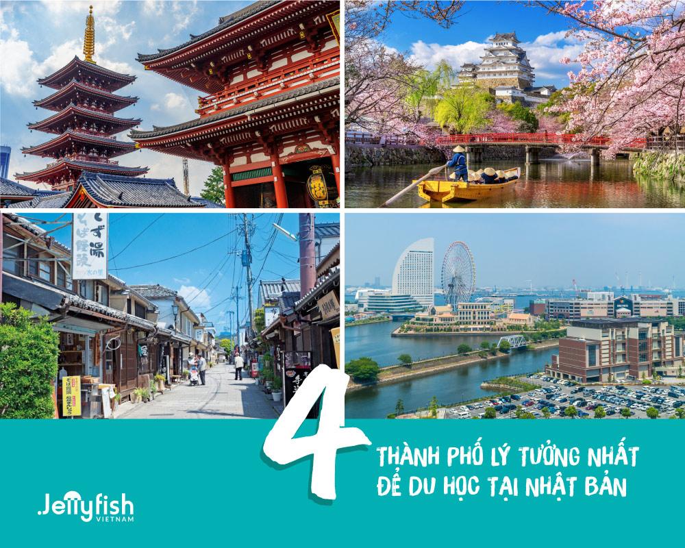 Top 4 thành phố đáng sống nhất ở Nhật