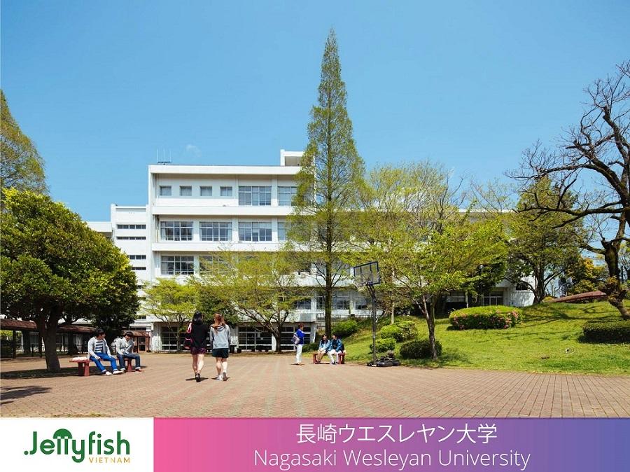 長崎ウエスレヤン大学   Nagasaki Wesleyan University - Thành lập: 2002