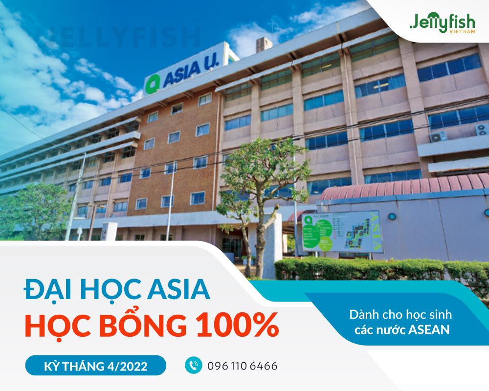 Đại học Asia tuyển sinh học bổng 100% dành cho học sinh khu vực ASEAN kỳ tháng 4/2022