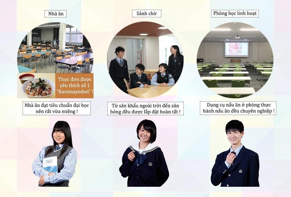 Keiai là trường học trực thuộc Đại học Higashi Osaka