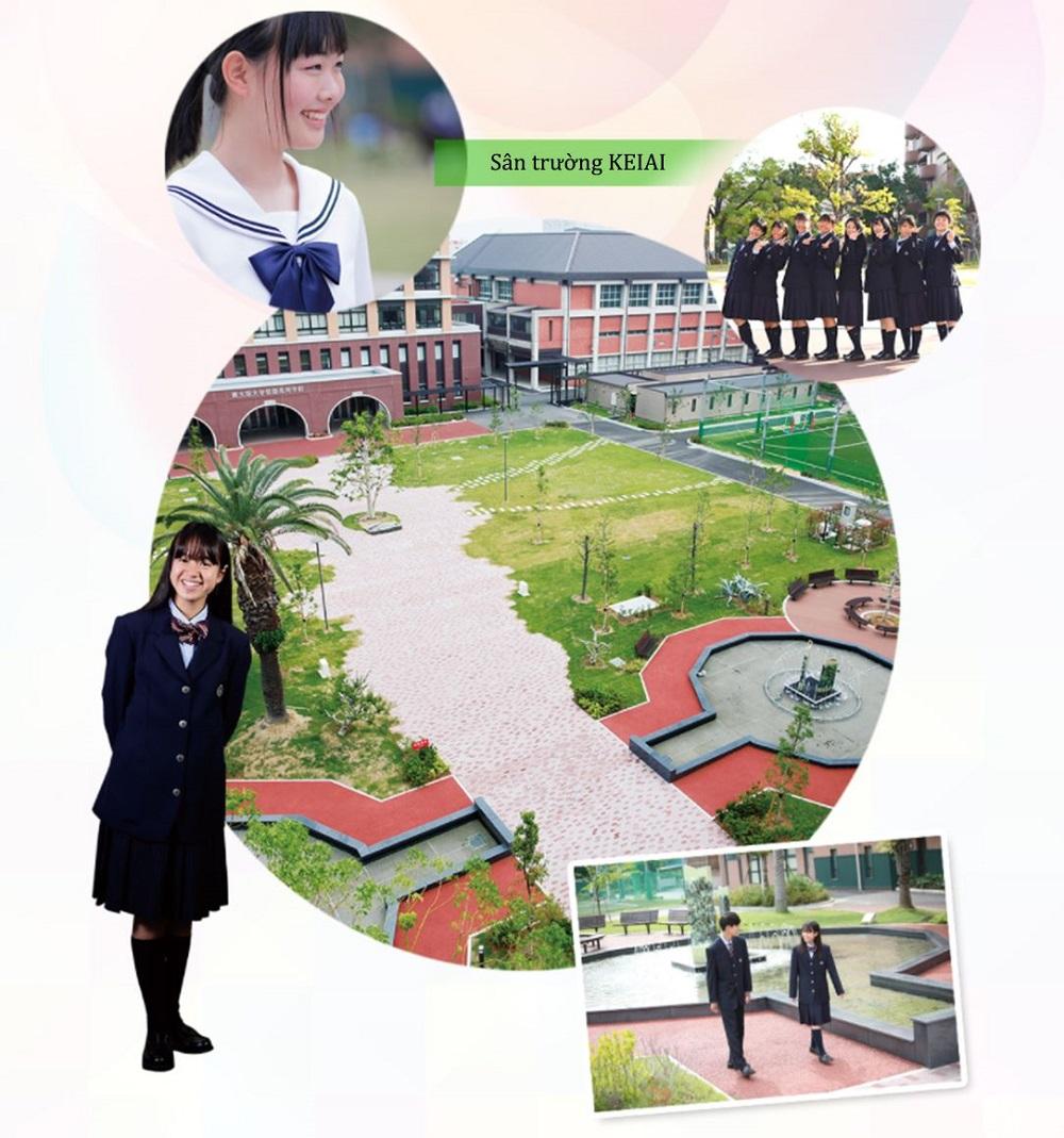 Khuôn viên trường Keiai