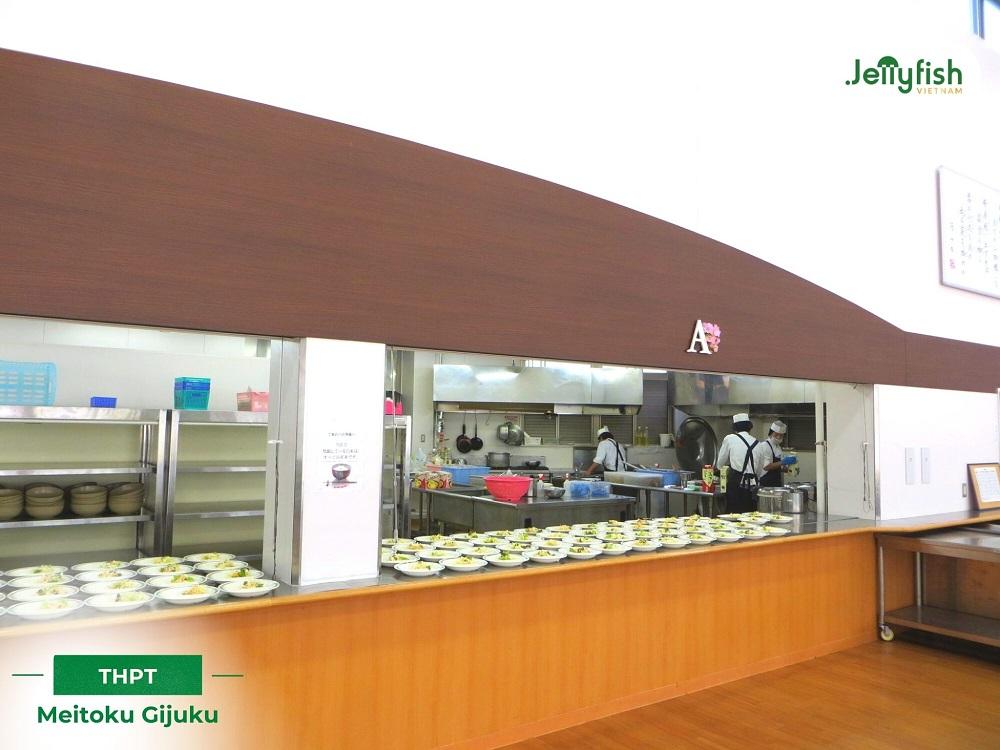 Nhà ăn của trường