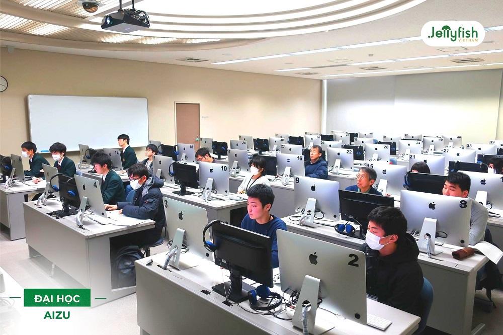 Hệ thống máy tính tại trường Aizu