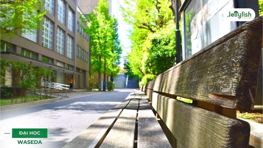 Khuôn viên trường Waseda ảnh 3