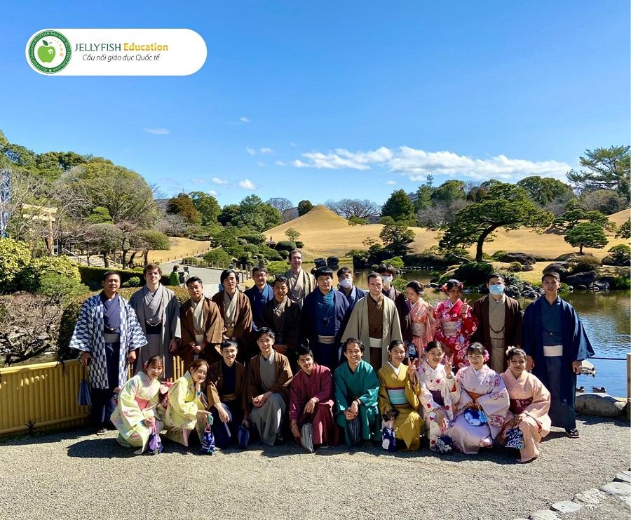 Hoạt động ngoại khóa dành cho học viên trường Nhật ngữ Kumamoto YMCA
