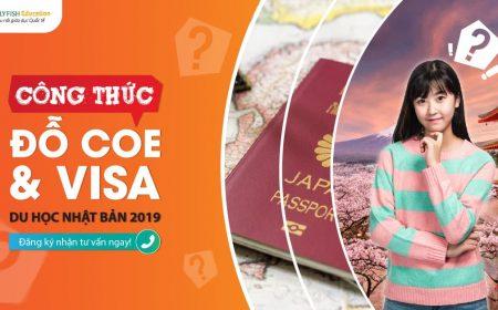 Công thức đỗ COE và visa du học Nhật