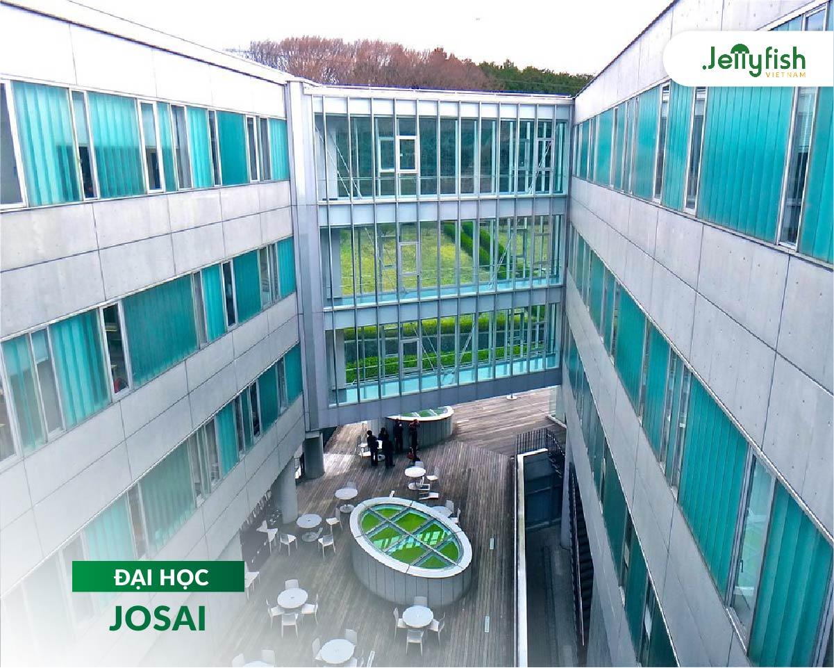 Khuôn viên trường Josai