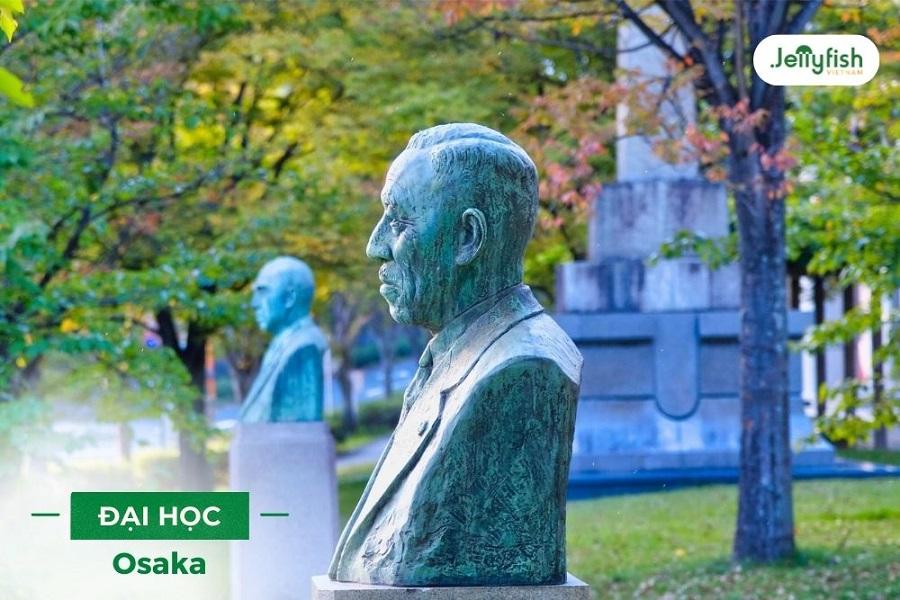 Đại học Osaka là trường Đại học lâu đời thứ 6 ở Nhật Bản
