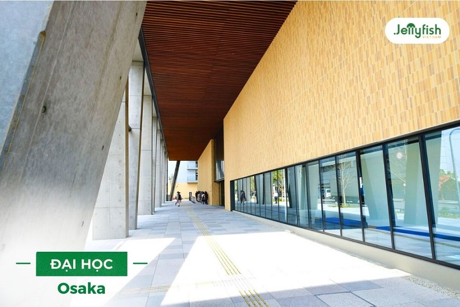 Osaka University là một trong những trường Đại học tốt nhất Nhật Bản