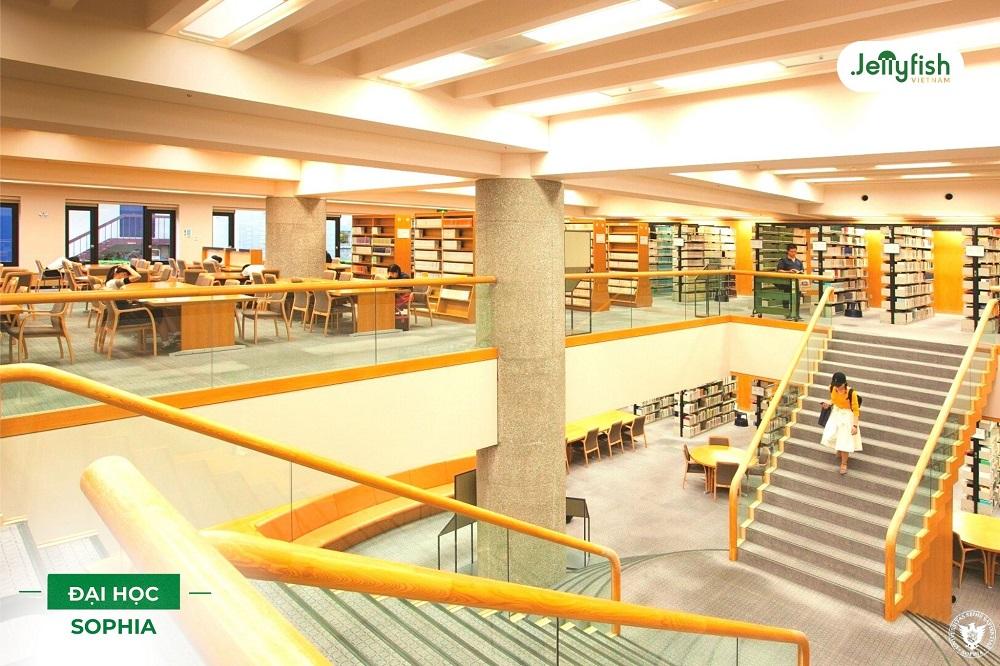 Thư viện trường Sophia