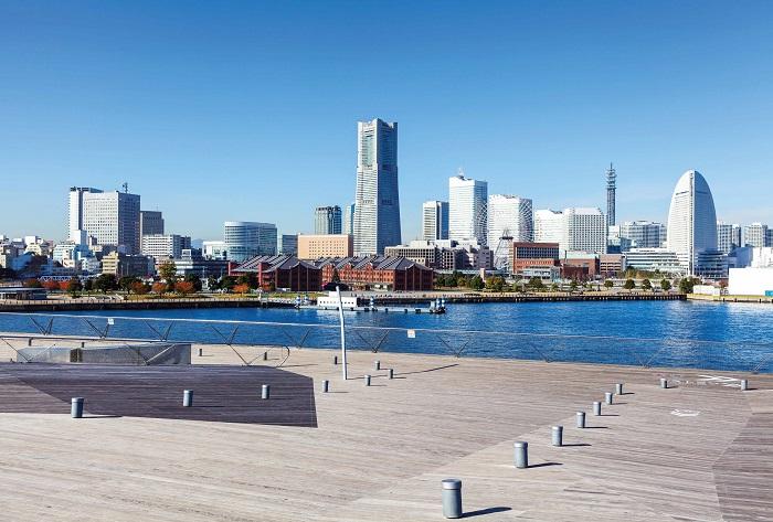 Thành phố Yokohama xinh đẹp và hiện đại