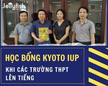Học bổng toàn phần Kyoto iUP - Khi các trường THPT Chuyên lên tiếng