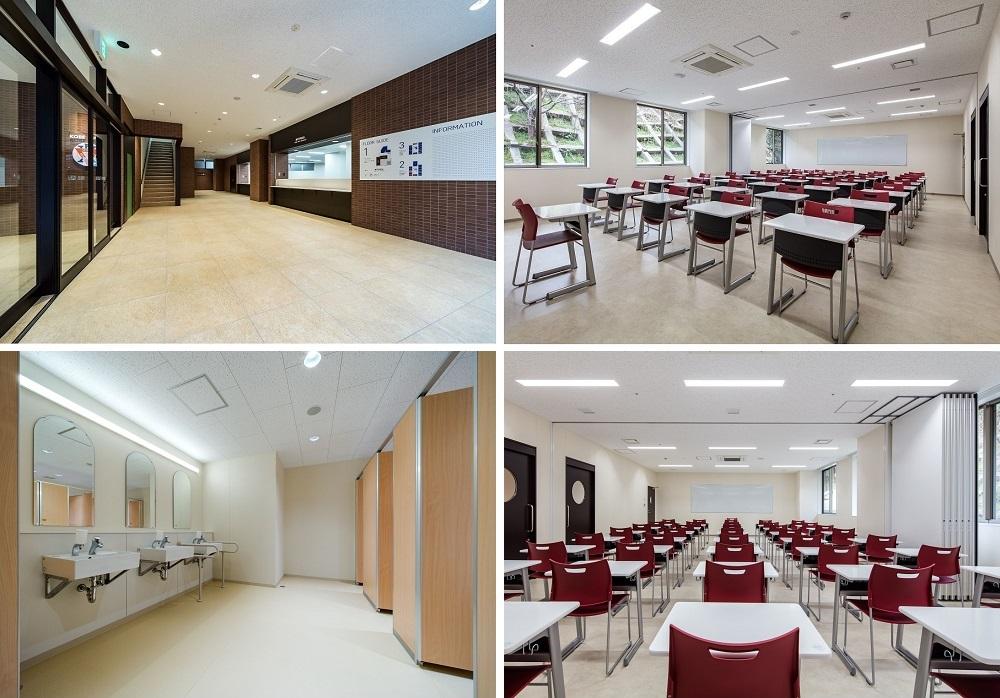 Cơ sở vật chất trường Nhật ngữ Kobe YMCA