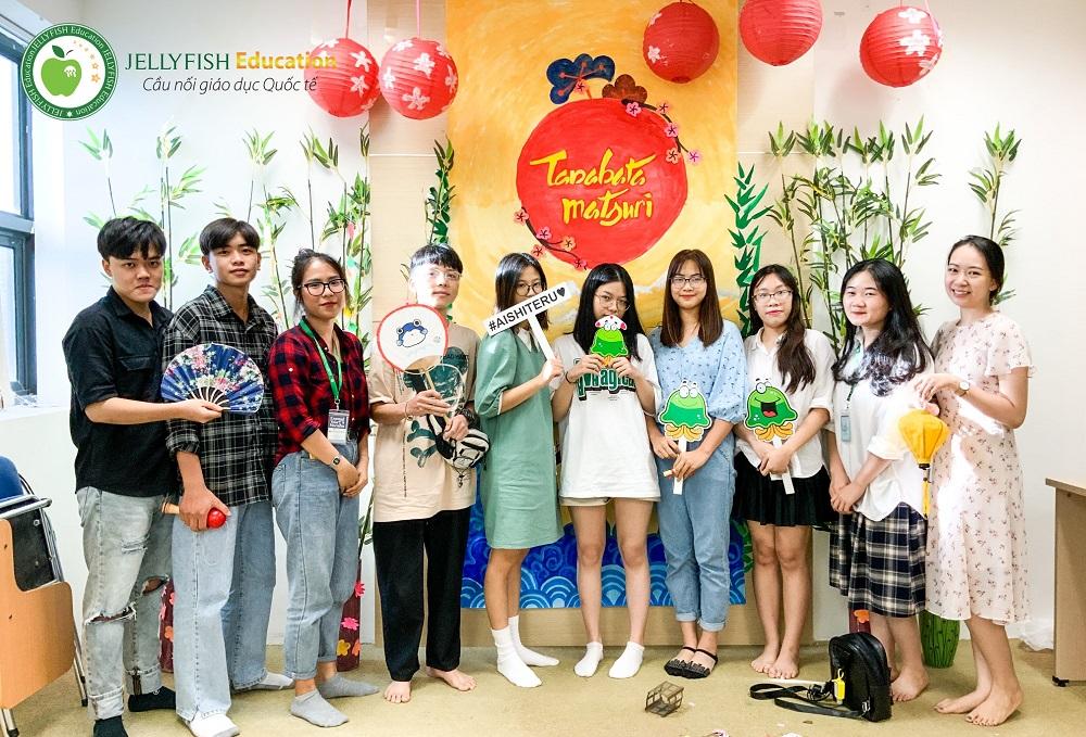 Lớp học văn hóa Jellyfish Hà Nội - Lễ hội Tanabata