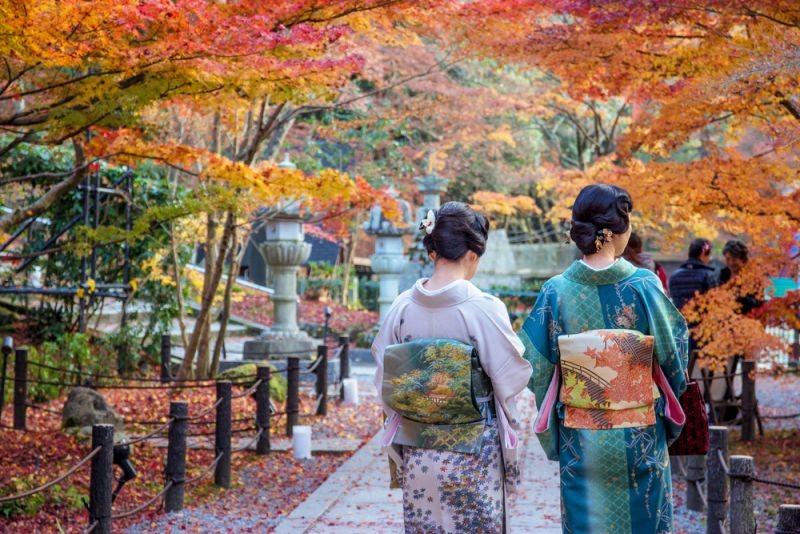 Mùa thu tại Nhật Bản
