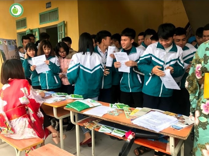 Ngày hội Văn Hóa và Du học Nhật Bản 2019 tại THPT Nghĩa Minh