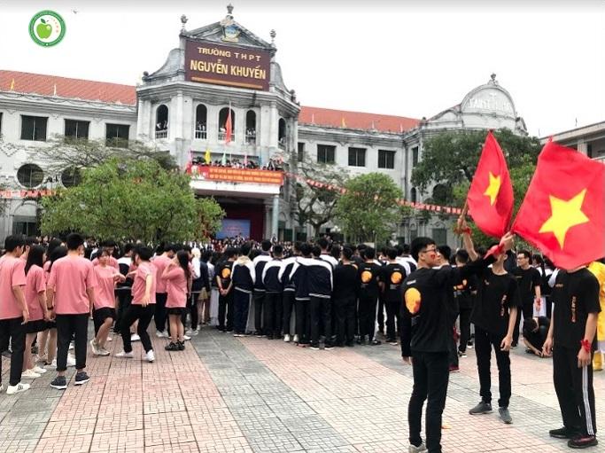 Ngày hội Văn Hóa và Du học Nhật Bản 2019 tại THPT Nguyễn Khuyến