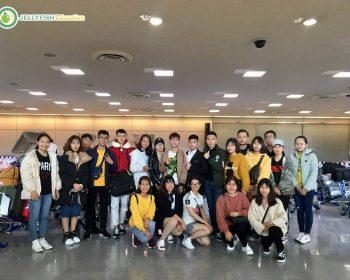 Ngày 25/03/2019: Đoàn du học sinh #TIUJ đã nhập quốc an toàn và ổn định chỗ ở.