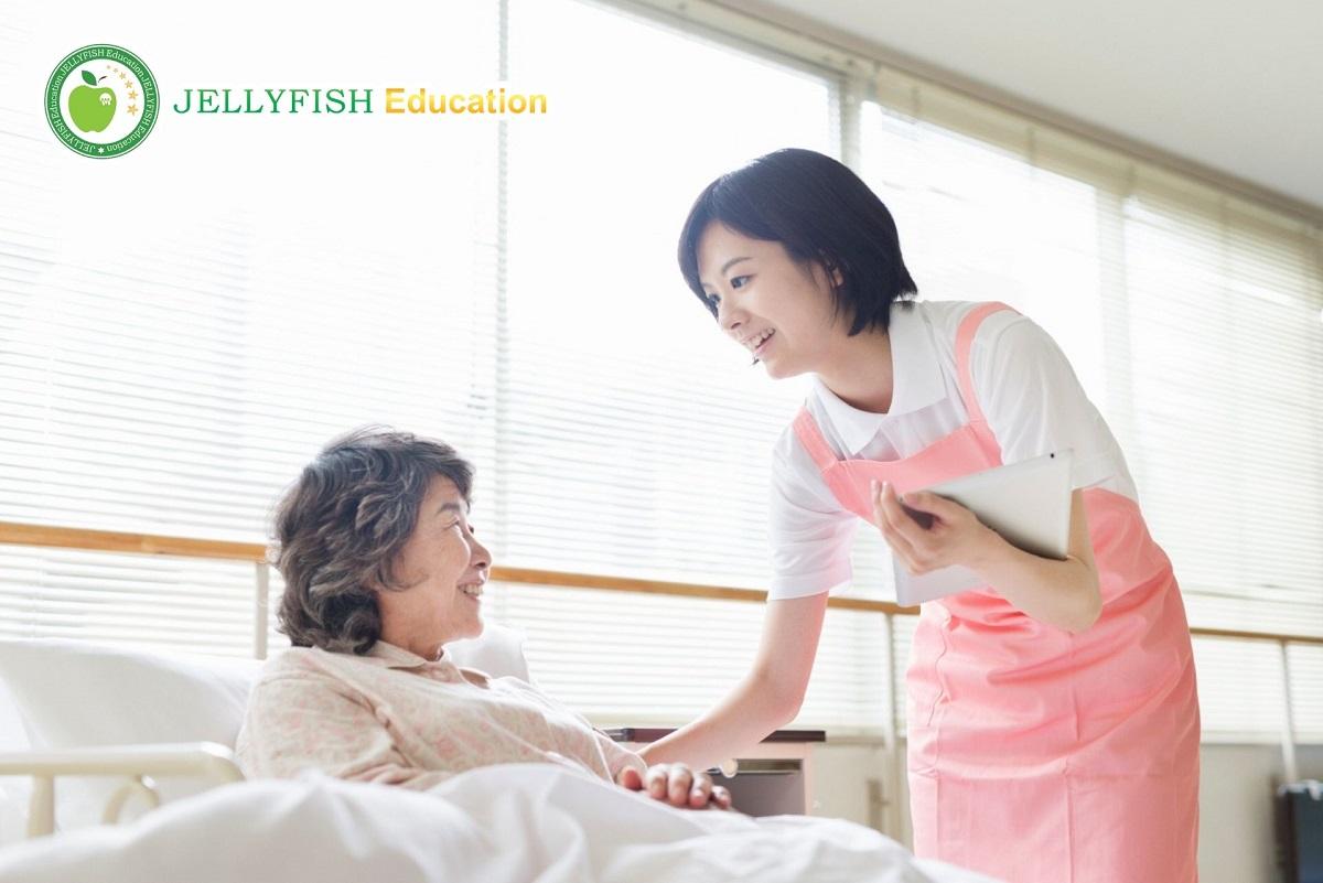 Khó khăn khi học điều dưỡng Nhật