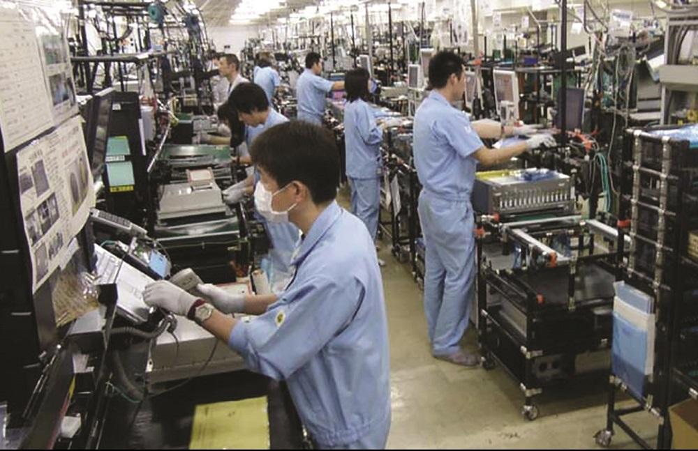 ngành điện tử, điện lạnh ở Nhật Bản