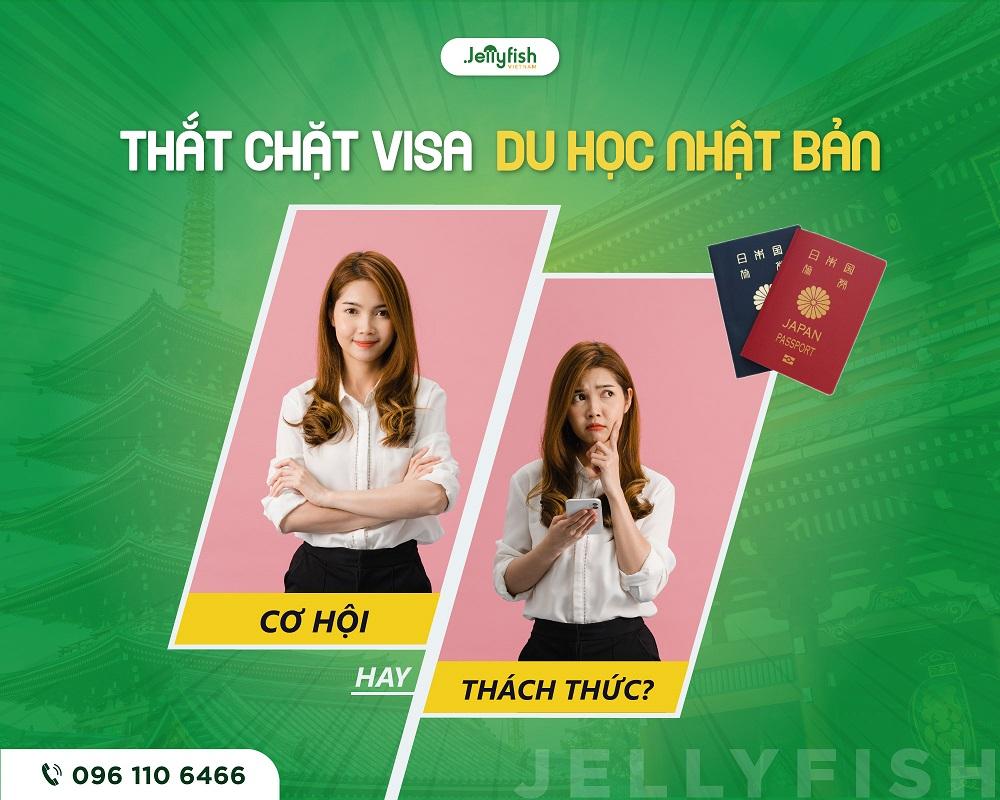 Thắt chặt Visa du học Nhật Bản
