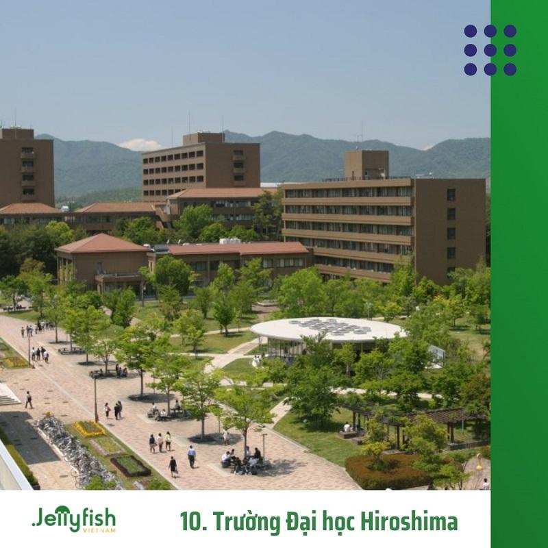 10. Trường Đại học Hiroshima