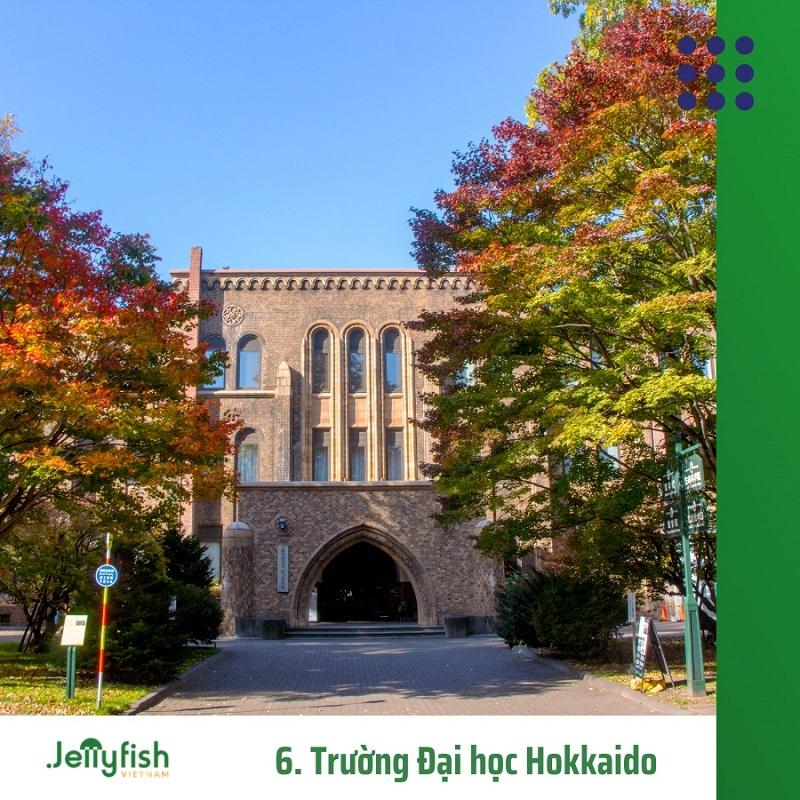 6. Trường Đại học Hokkaido