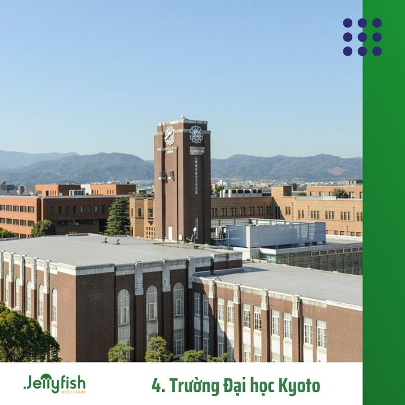 4. Trường Đại học Kyoto