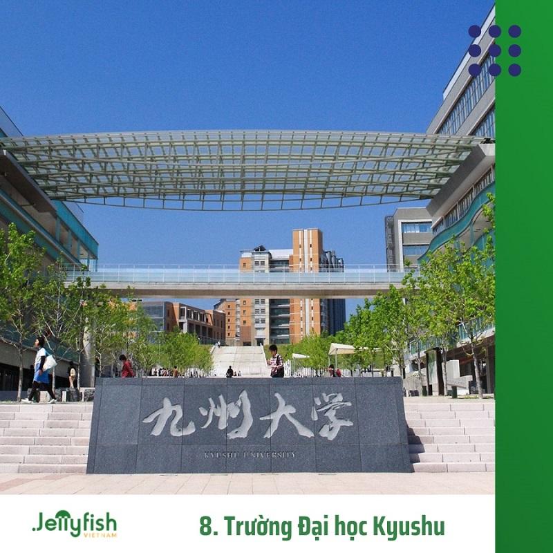 8. Trường Đại học Kyushu