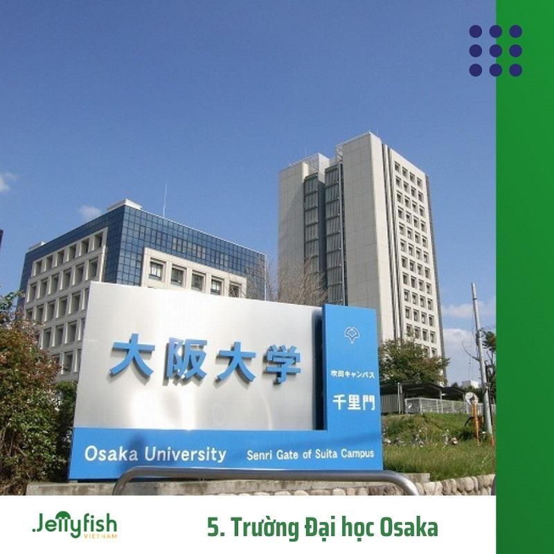 5. Trường Đại học Osaka